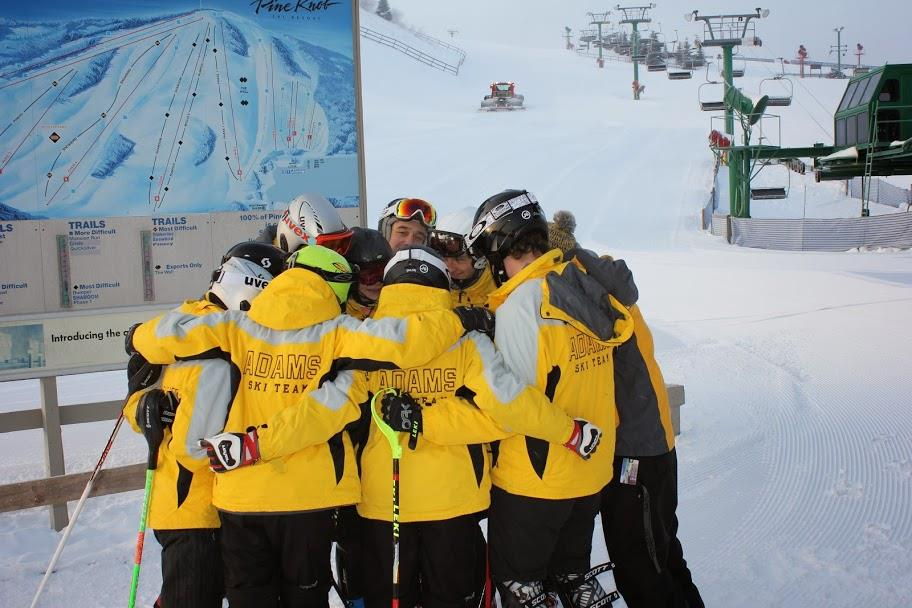 Adams+Ski+Team+at+Pine+Knob