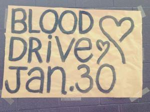 Adams Prepares for Blood Drive