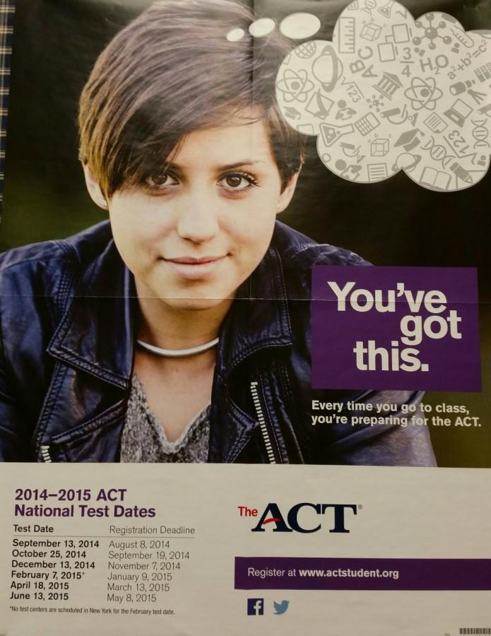 ACT+poster+in+the+Adams+Counseling+Office