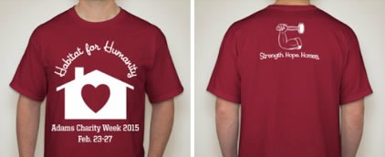 Adams High School Charity Week T-Shirt