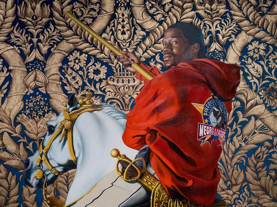 Equestrian+Portrait+by+Kehinde+Wiley