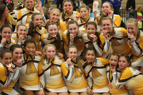 Varsity Cheer Team Wins Big