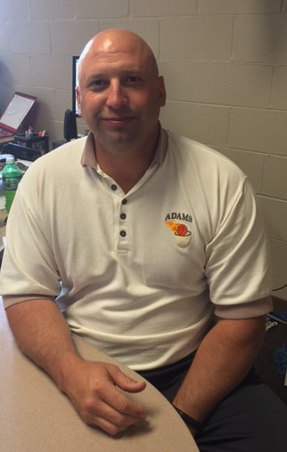 Mr. Hall teaches Pre-Calculus and AP Statistics in addition to coaching basketball.