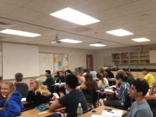 Students are experiencing claustrophobia in their packed classrooms.