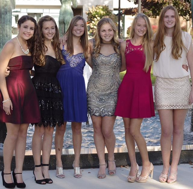 A+group+of+girls+rock+Homecoming+as+friends+their+sophomore+year.+%28Pictured+left+to+right%3A+now+seniors+Lizzy+Botkin%2C+Grace+Vanden+Bossche%2C+Jordan+Reichenbach%2C+Stephanie+Heidel%2C+Klara+Schmidt%2C+and+Ally+Davis%29