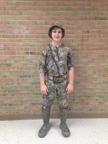 Spirit Week 2016: Day 4~Camo Day