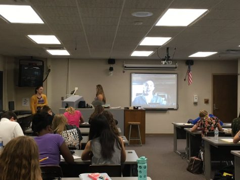 NY Times Best Selling Author Skypes with Adams' Students