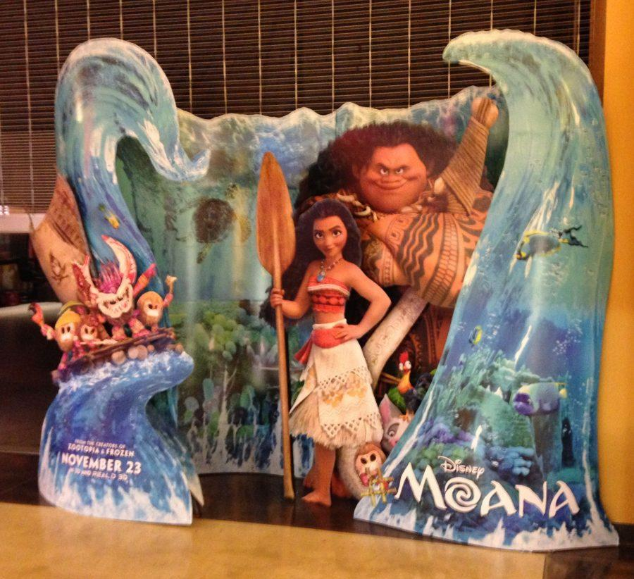 AMC+promotes+Moana+with+life-size+movie+display.