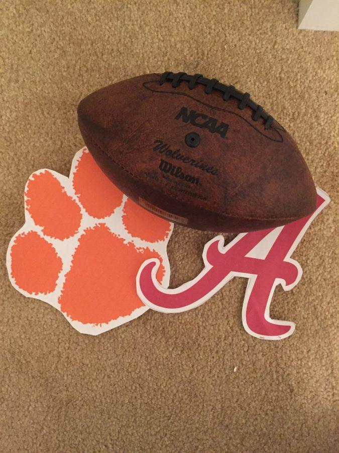 The+Clemson+Tigers+and+Alabama+Crimson+Tide+will+play+in+the+national+championship+game+on+Monday%2C+January+9++to+determine+the+real+champion+of+college+football+in+2017.+