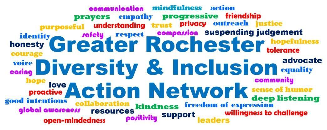 The Greater Rochester Diversity and Inclusion Action Network wishes to welcome the new government administration with an open mindset while also building a welcoming community in the Rochester area. Photo by: Samantha Phillips