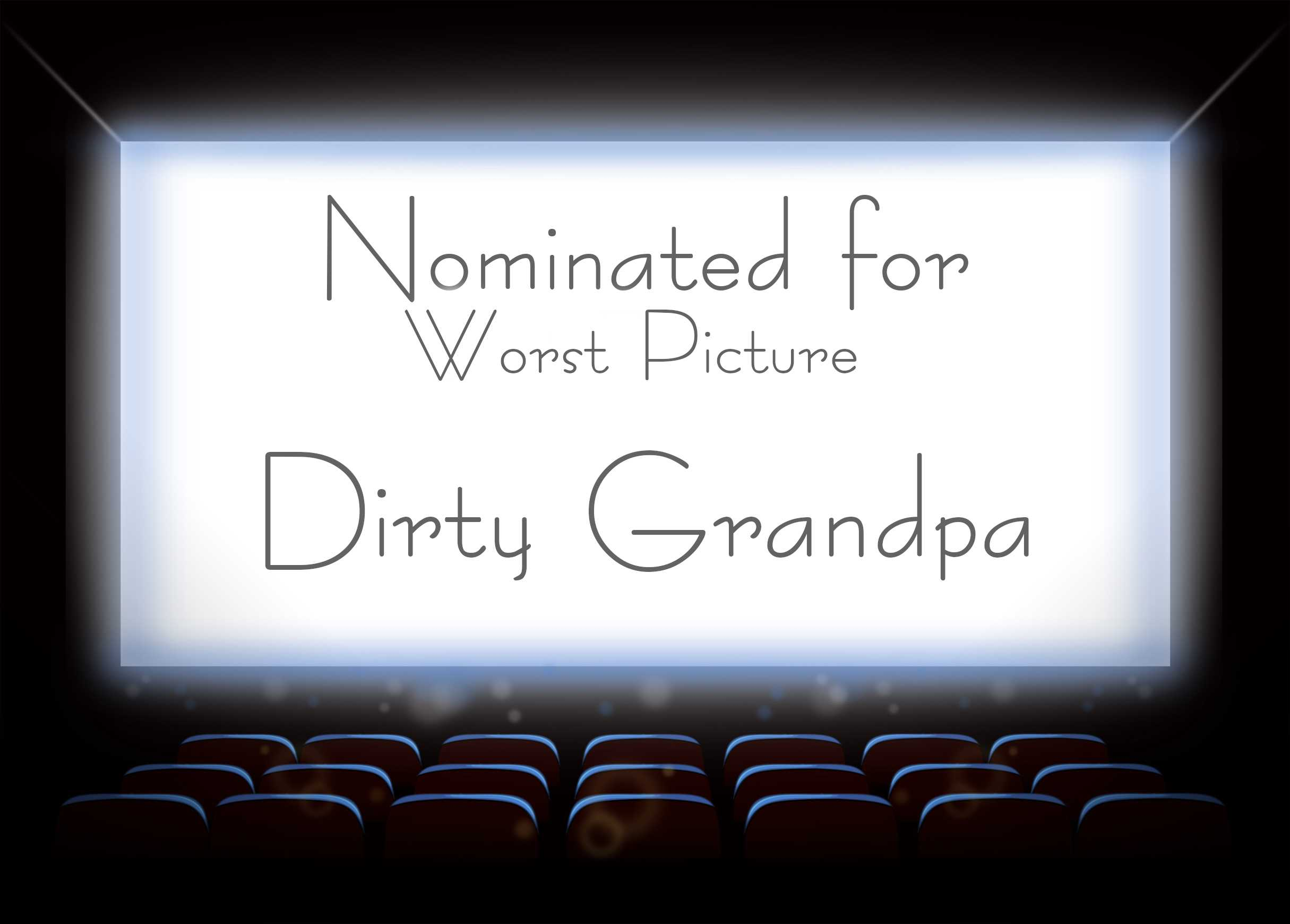 Dirty Grandpa hit theaters in January of 2016. Check out the trailer on Youtube.