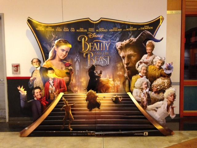 AMC+promotes+Beauty+and+the+Beast+with+life-size+display.