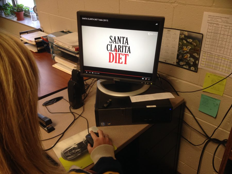 Santa+Clarita+Diet+is+available+to+stream+on+Netflix.