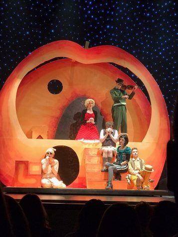 James and the Giant Peach is Just Peachy