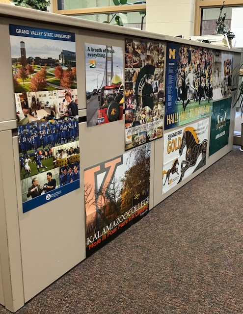College+recruiting+posters+in+the+counseling+office.+
