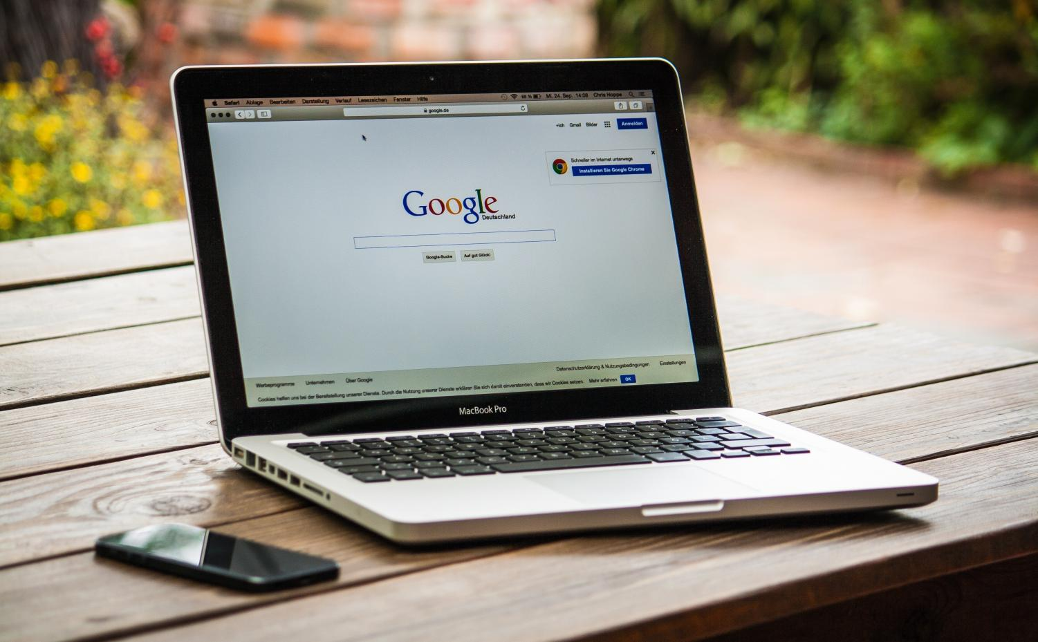 Many students use search engines like Google.