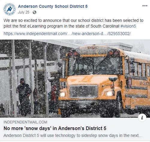 Online school on snow days?