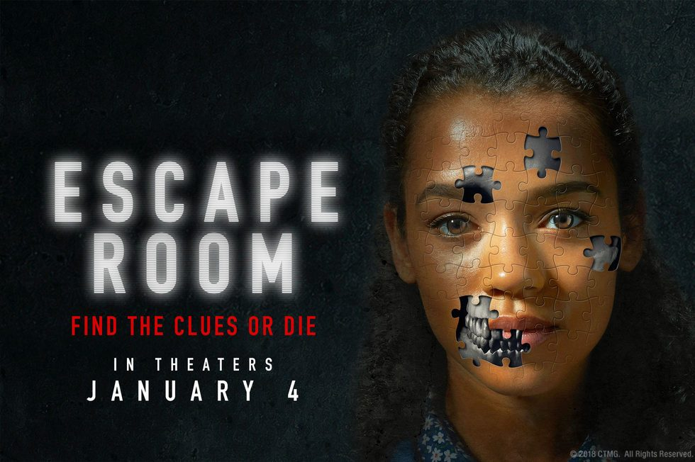 Escape Room Movie Trailer Poster