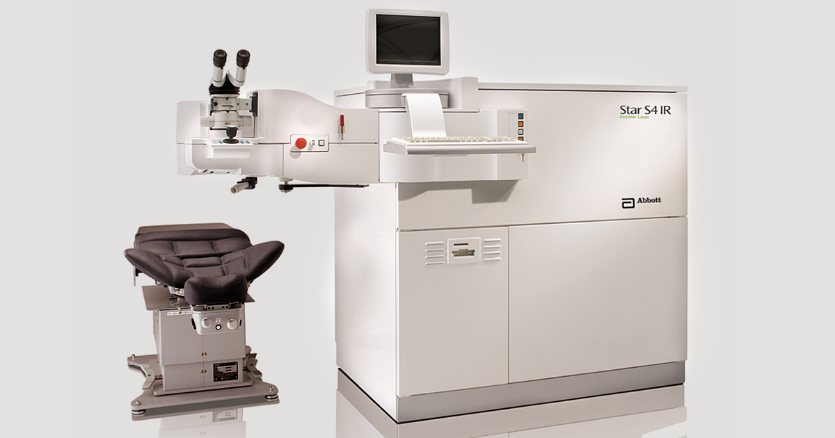 Lasik machine used to perform the surgery.