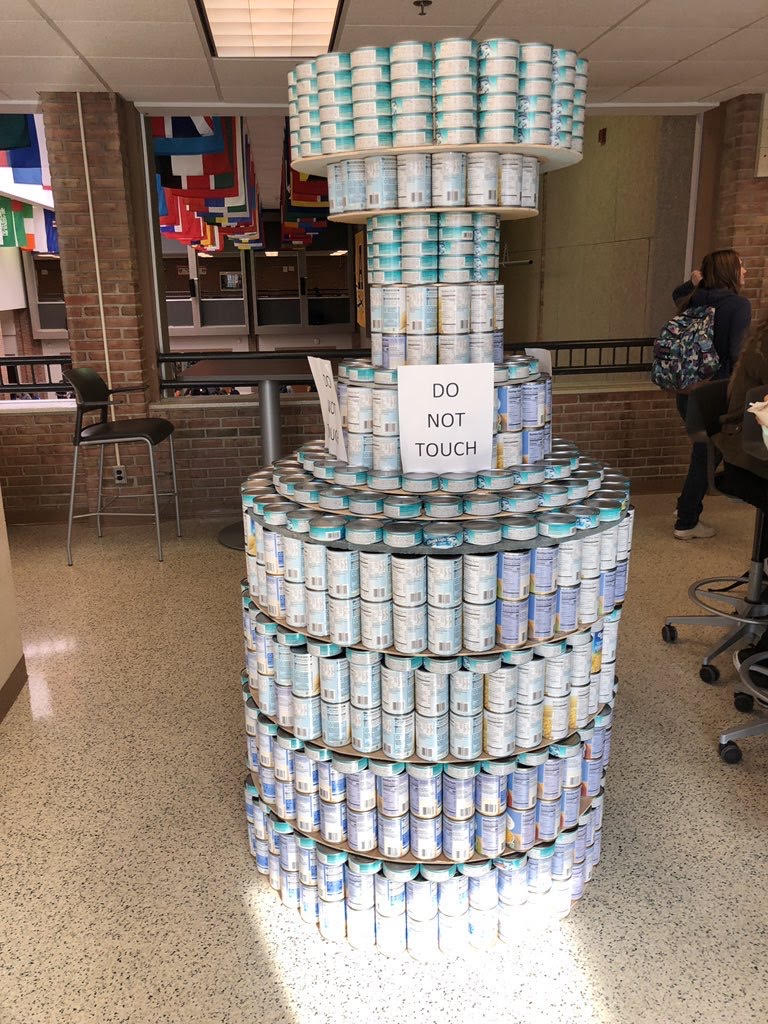 The Canley Cup; Heart and soul of the canned food drive.