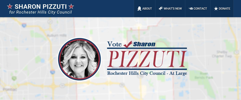 Candidate Sharon Pizzuti