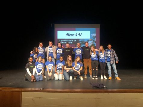 AHS Students Deliver Message About Mental Health