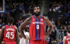 Drummond donns the Pistons: City Edition uniform alongside Rookie Sekou Doumbouya