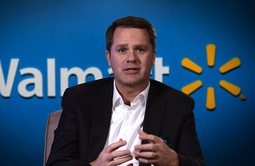 Doug McMillion, CEO and President of Walmart.