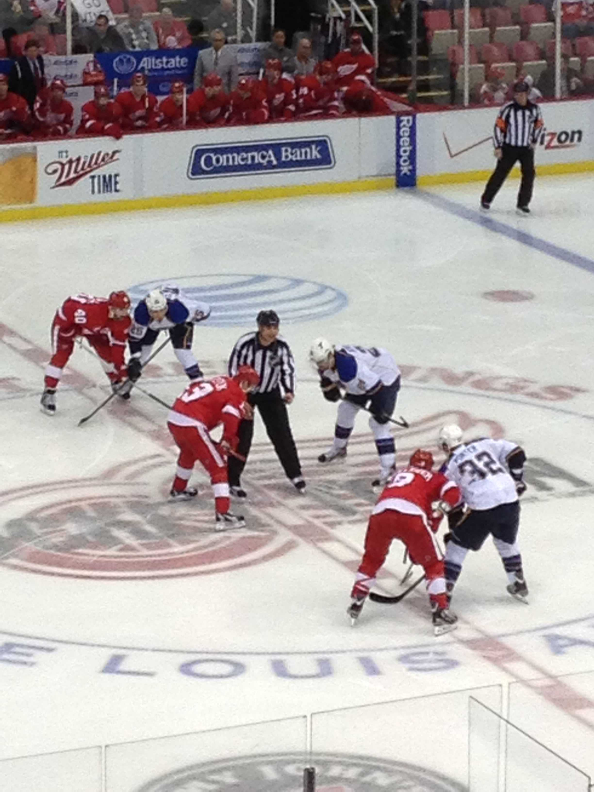 The Red Wings face off against the Chicago Blackhawks in the Western Conference Semifinals