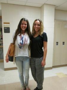 AHS Students and Their Autumn Fashions