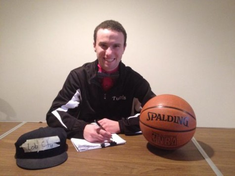 Ryan Gibbons signing with the Lob City Supersonics