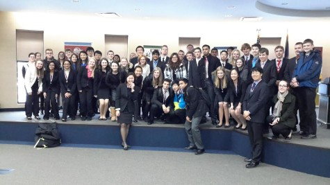 Adams DECA and BPA Prepare for States