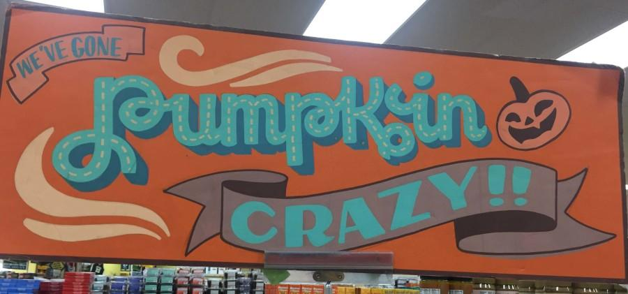 Grocery stores like Trader Joe's (pictured) often have entire aisles dedicated to pumpkin-flavored selections