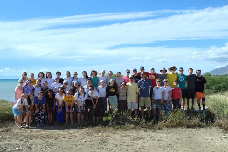 38+students+traveled+to+Haiti+the+week+of+Thanksgiving