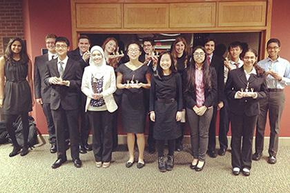 The state debate tournament was held at Albion College in Albion, Michigan