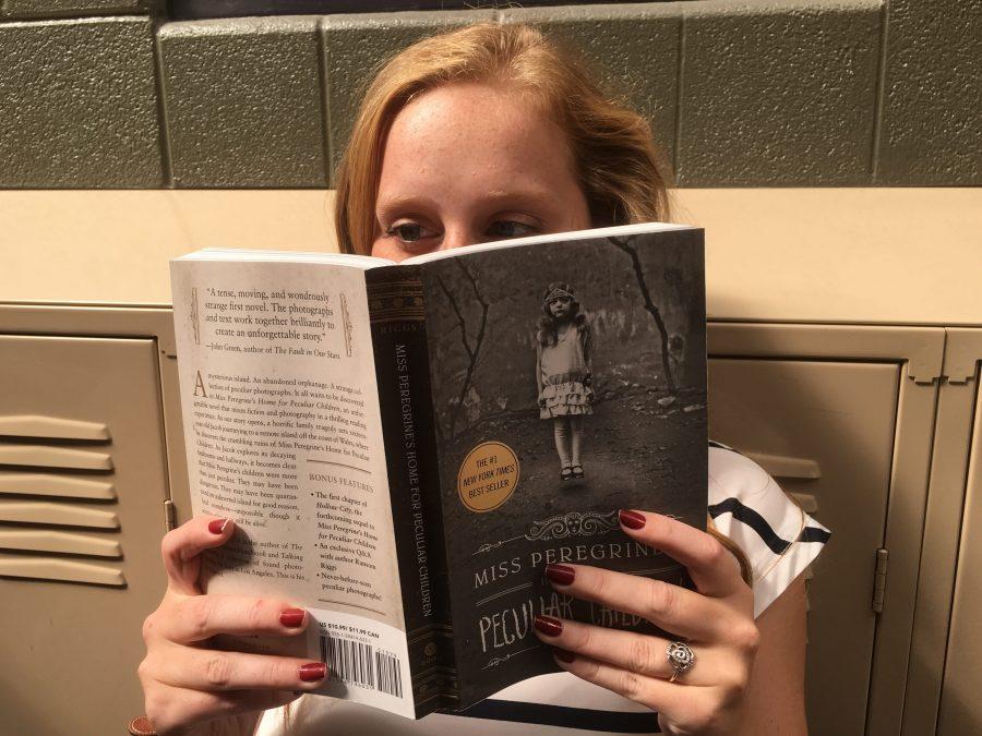Readers+around+the+school+devour+Rigg%27s+breakout+novel.