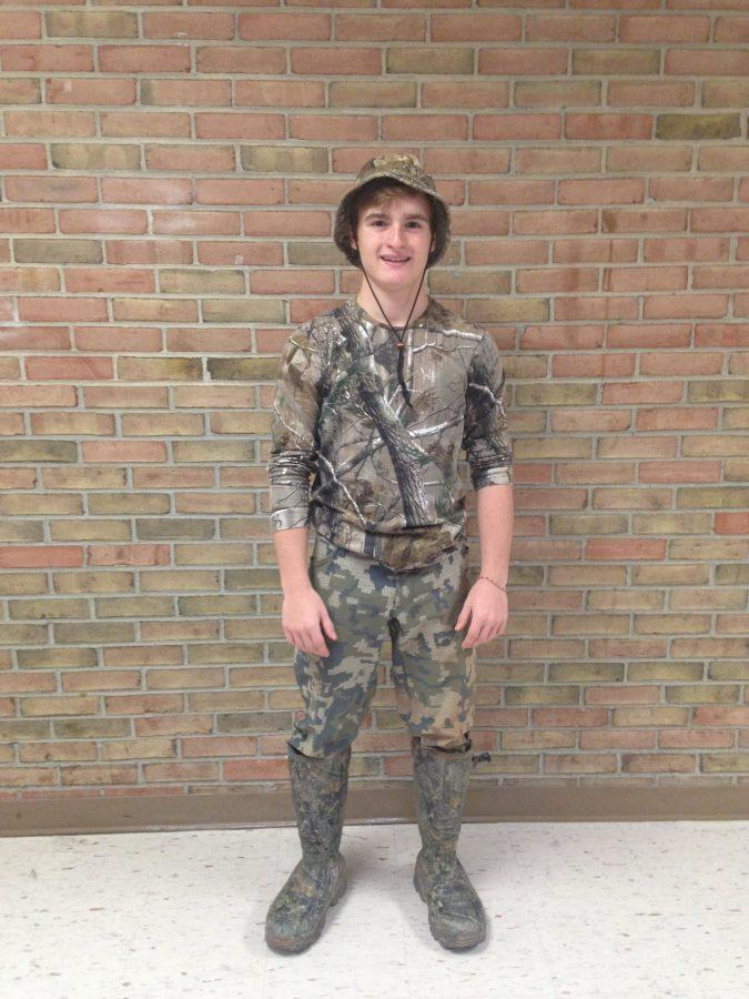 Adams+students+are+feeling+the+spirit+Thursday+in+their+camouflage+gear.
