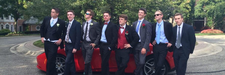 oys from the class of 2017 take on Homecoming together… without dates.