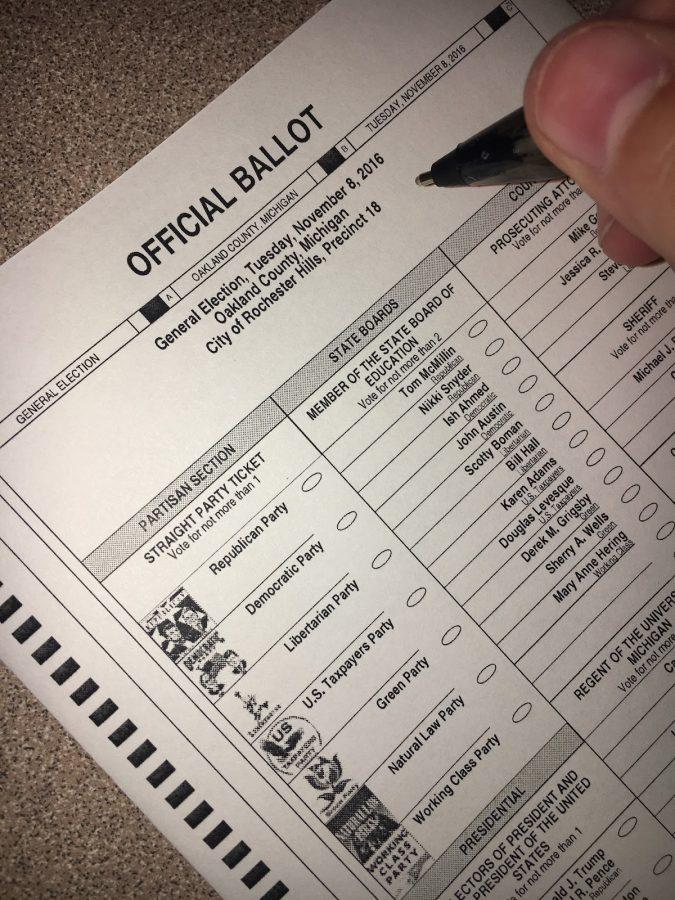Rochester Hills' voters had many decisions to make on this year's ballot.