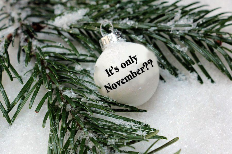 People+begin+to+celebrate+Christmas+too+early%2C+beginning+in+November.