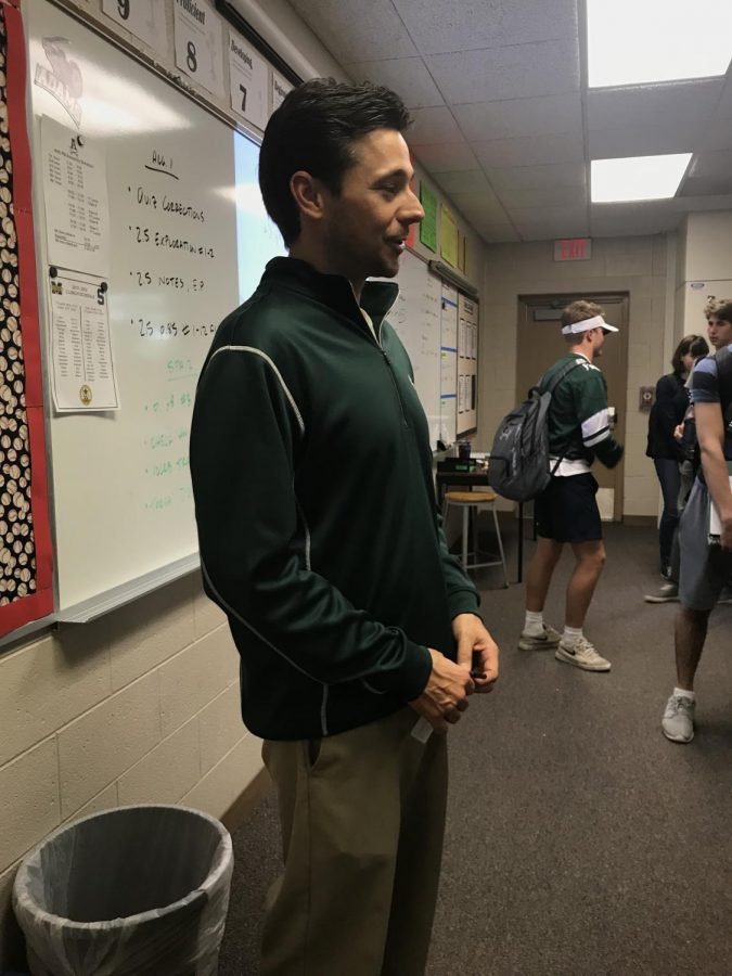 Mr. Tulppo bleeds green and white.