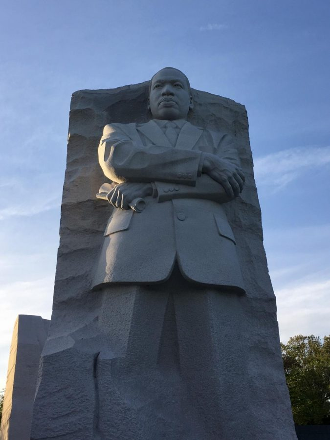 Martin Luther King Jr. is commemorated in Washington, DC with his own memorial.
