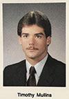 Mr. Mullins' senior yearbook portrait (1985).