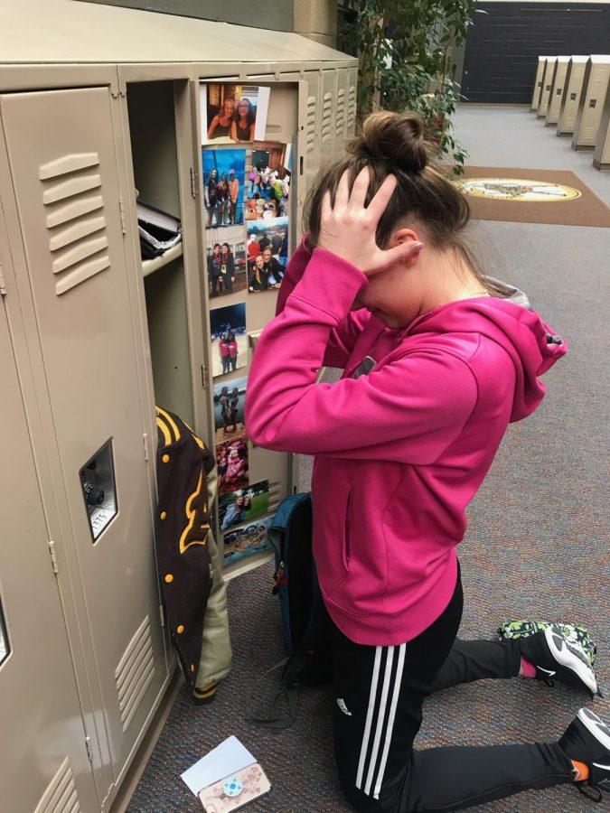 Kaitlynn Kovalesky agonizes over her workload.