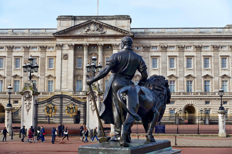 The Buckingham Palace in London, UK.