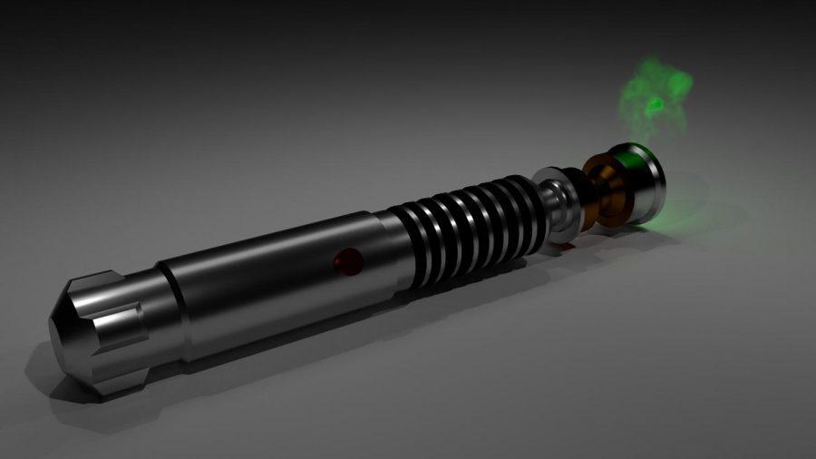 Luke Skywalker's Lightsaber.