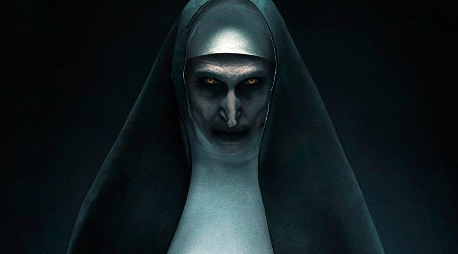 The+Demonic+nun+in+The+Nun.+