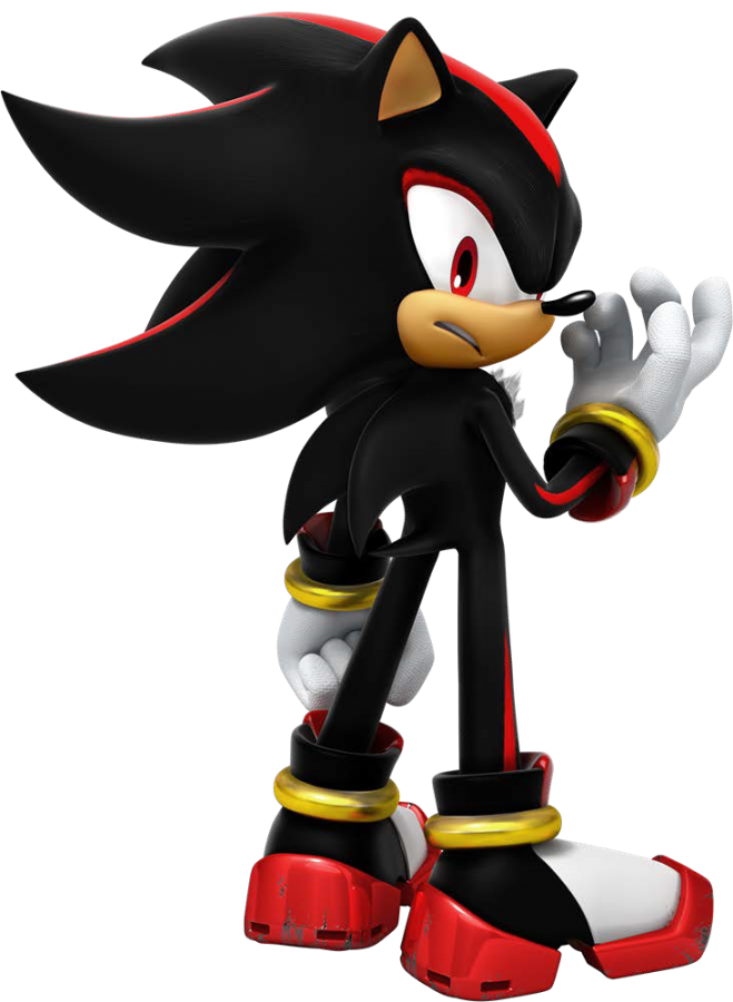 Shadow in his possible idle pose.