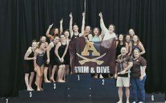 Adams Girls Swim and Dive Wins it All