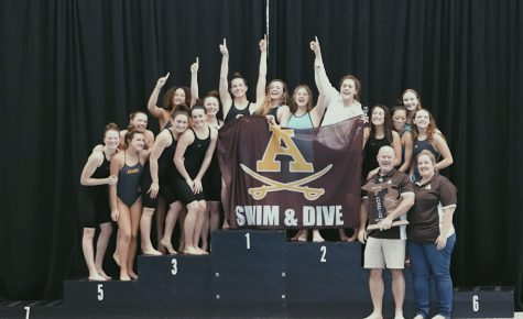 Adams Girls Swim and Dive Wins it All